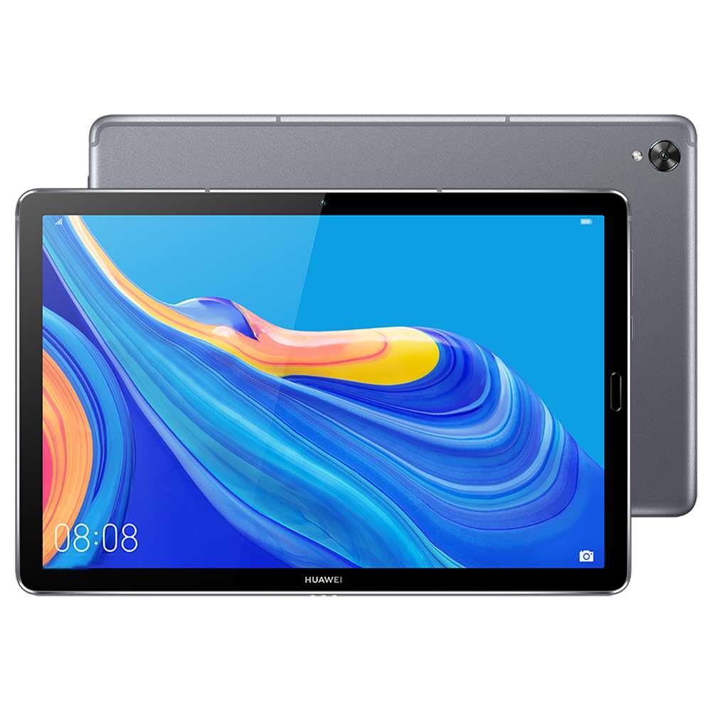 HUAWEI M6 WiFi Tablet PC CN Rom 10.8 cala IPS 2560 * 1600 Ekran Hisilicon Kirin 980 Octa Core Mali G76 Android 9.0 4GB RAM 64GB ROM 13.0MP + 8.0MP Aparat 7500mAh Zastosowanie baterii Podział ekranu - szary