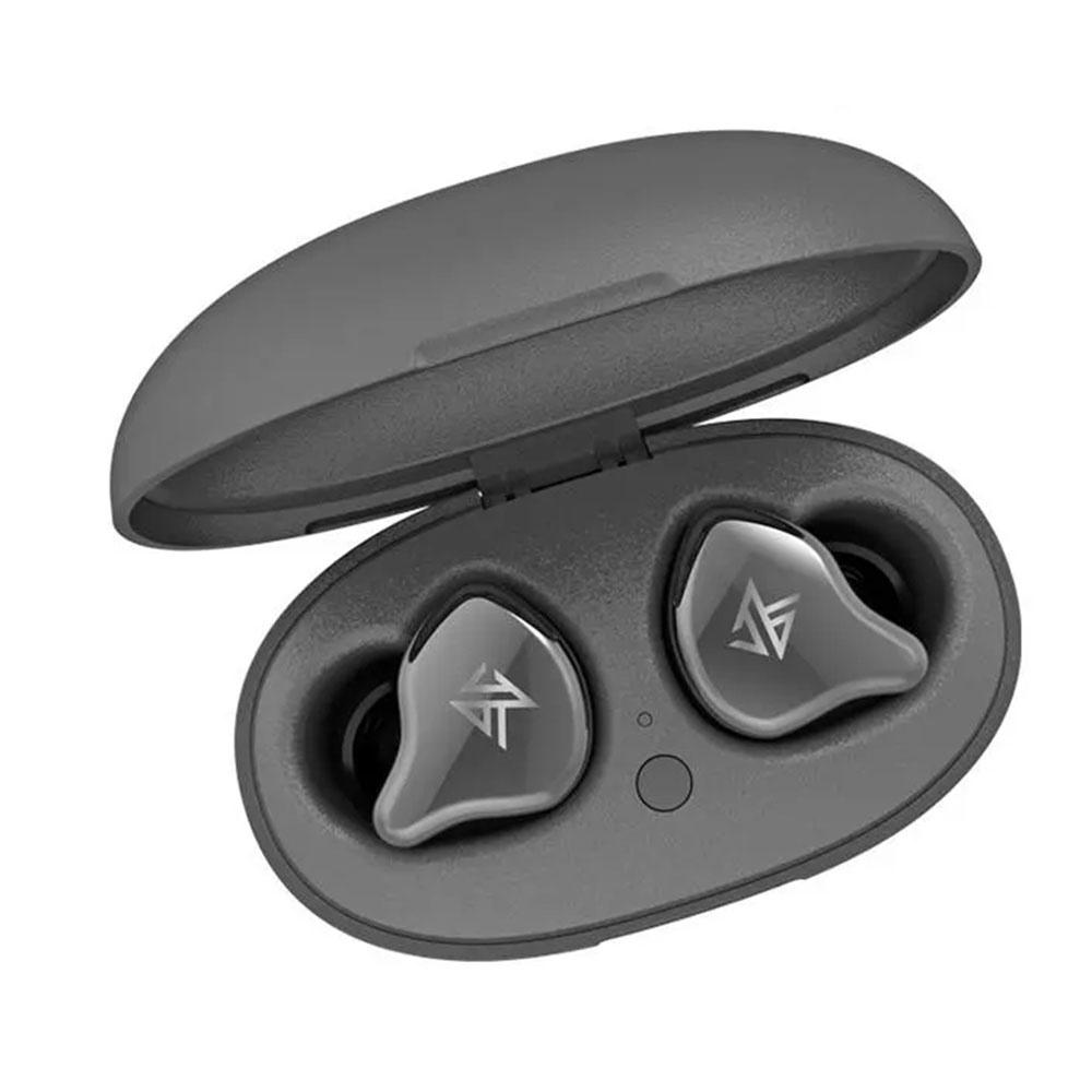 KZ S1 TWS Bluetooth 5.0 TWS Kulaklık Hibrit Sürücü - Gri