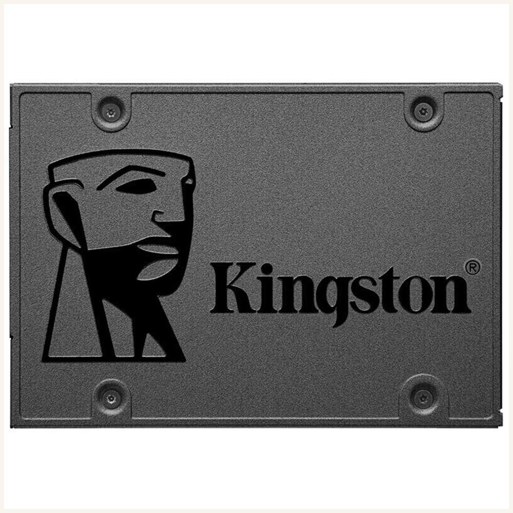 Kingston A400 SSD 960GB SATA 3 2.5-calowy dysk SSD Phison S11 Obsługa systemu Windows 500 MB / s Prędkość odczytu na pulpicie laptopa - ciemnoszary