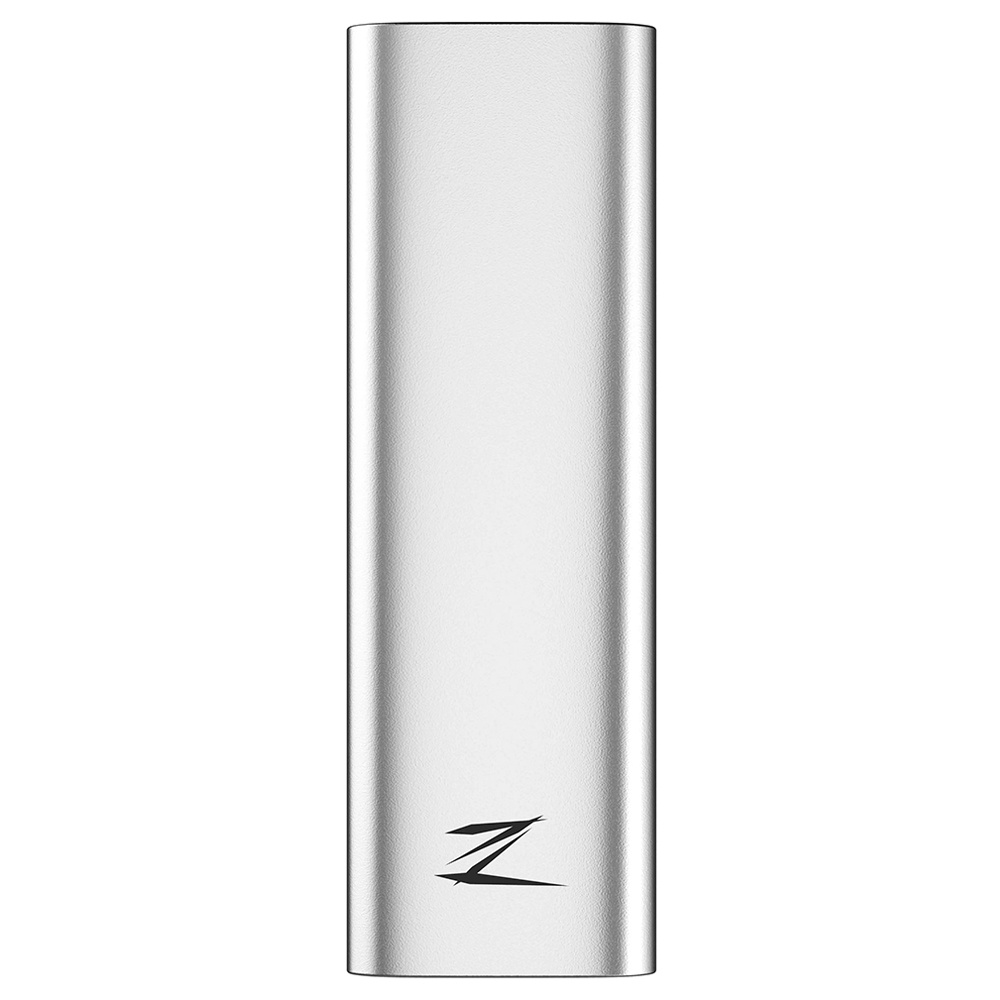 Netac Z Slim 256G Type-C Interface USB 3.1 Portable Mobile SSD 430MB/s Transfer Speed Support Mac Computer To Switch Windows System - Silver