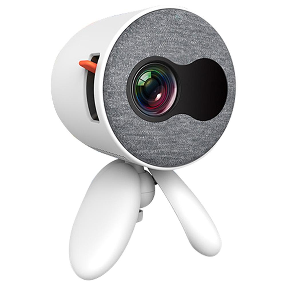 Mini proiettore tascabile YG220 480 * 320P Supporta 1080P HDMI AV SD USB compatibile con Fire TV Stick / PS4 / USB / HDMI / SD / AV - Bianco