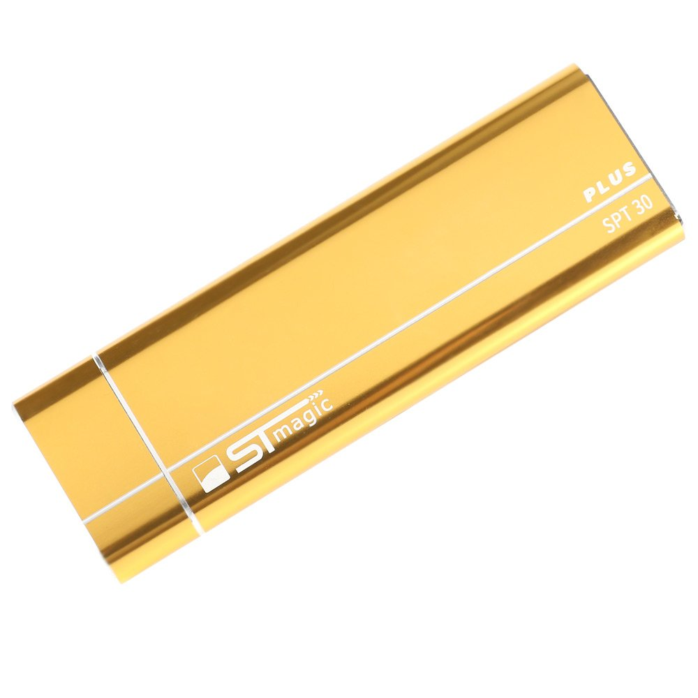 Stmagic PT30 Plus Type-C To USB 3.1 SSD Enclosure 2T Capacity Support M.2 PCIe Solid State Drive - Gold