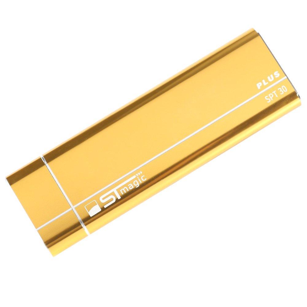 Stmagic PT30 Plus C típusú USB 3.1 SSD házhoz 2T kapacitás támogató M.2 PCIe szilárdtest-meghajtó - arany
