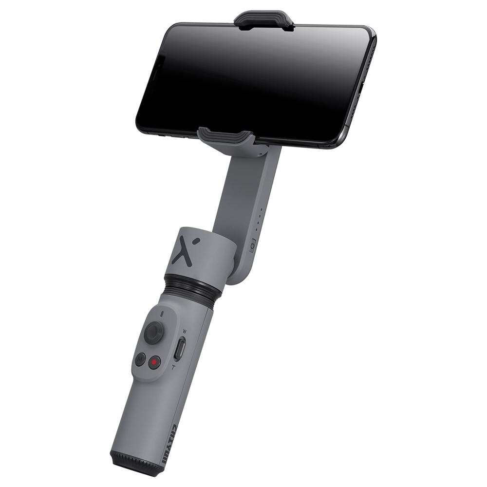 Zhiyun Smooth-Xスマートフォン用ハンドヘルドジンバルスタビライザー-グレー