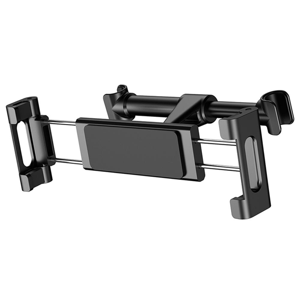 Support de téléphone de siège arrière de voiture Baseus rotatif pour 4.7-12.9 pouces - noir