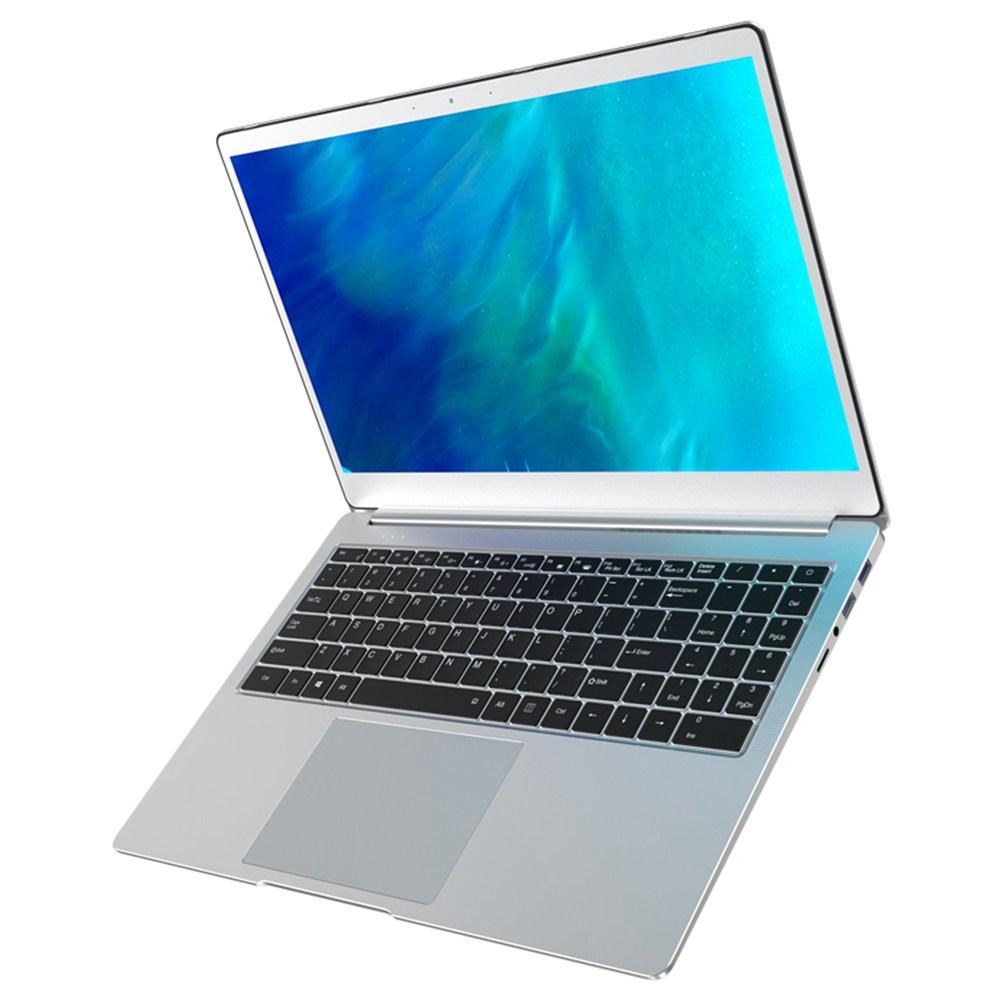 T-BAO Tbook X9 كمبيوتر محمول Intel Celeron J4115 شاشة 15.6 بوصة 1920 × 1080 IPS شاشة Intel HD Graphics 600 Windows 10 8GB DDR4 256GB SSD Backlight Keyboard مكبر صوت مدمج إصدار اللغة الإنجليزية - فضي