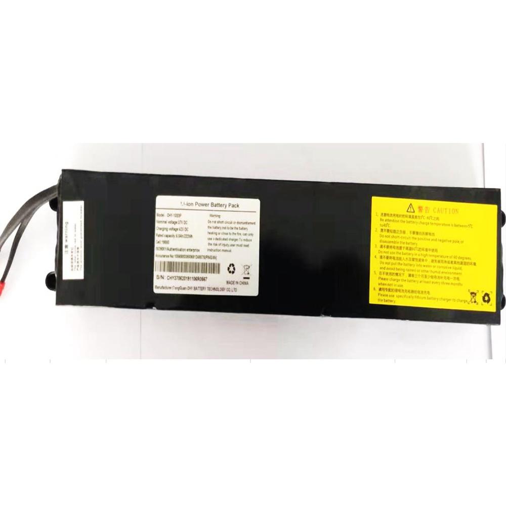 Запасной 6Ач аккумулятор для KUGOO KIRIN S1 - черный