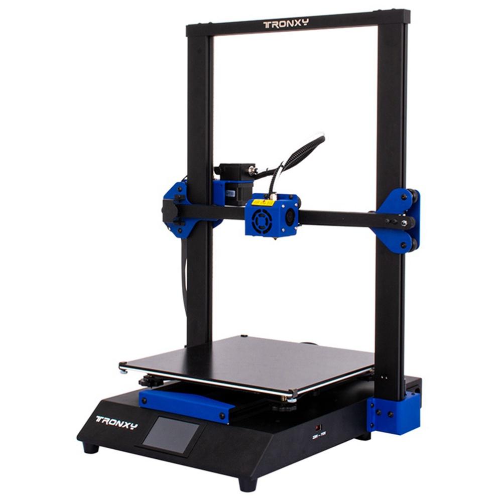 Stampante 3D Tronxy XY-3 Pro Scheda madre ultra silenziosa Estrusore di titanio Assemblaggio rapido Livellamento automatico Riprendi stampa Kit 3D 300x300x400mm Compatibile con PLA ABS PETG WOOD TPU.
