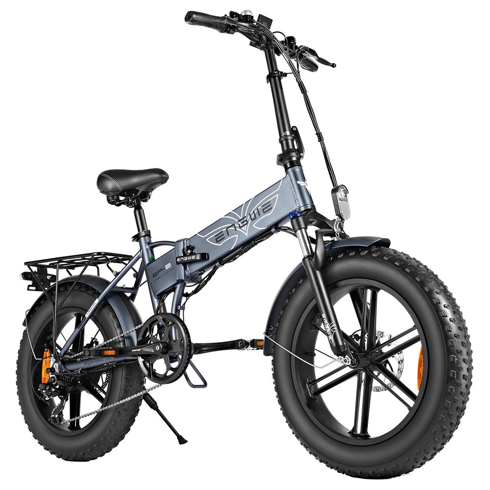 ENGWE EP-2 Folding Electric Moped Bicycle Gray
