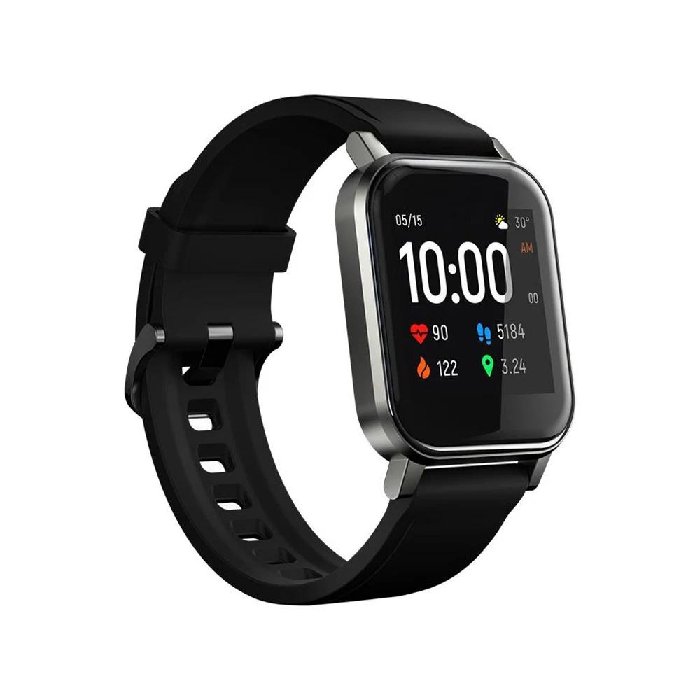 Haylou LS02 Smart Watch 1.4-дюймовый HD-экран Bluetooth 5.0 IP68 Водонепроницаемый - Глобальная версия