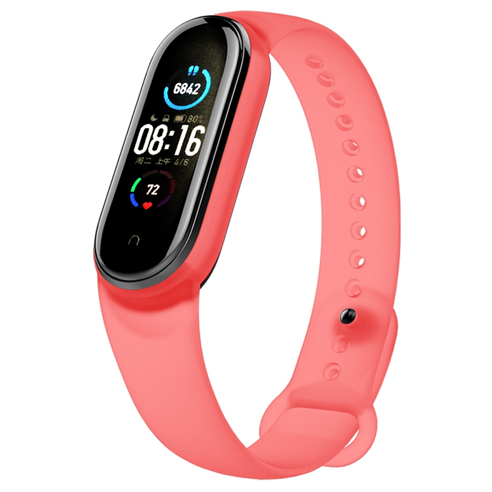 Replacement Strap for Xiaomi Mi Band 5 Red