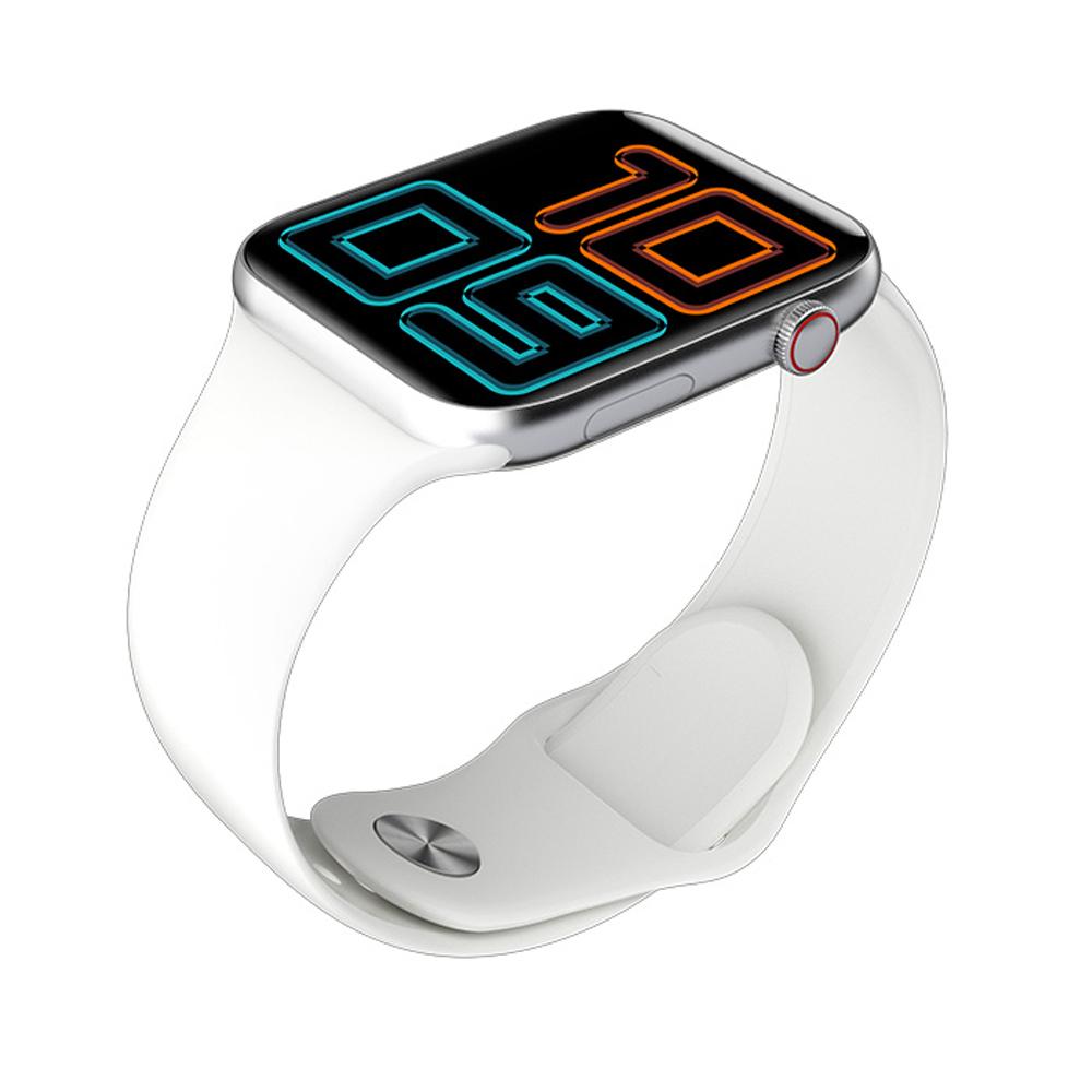Έξυπνο ρολόι ELEPHONE W6 Οθόνη 1.54 ιντσών Bluetooth 5.0 Monitor καρδιακού ρυθμού Smartwatch - Ασημί λευκό