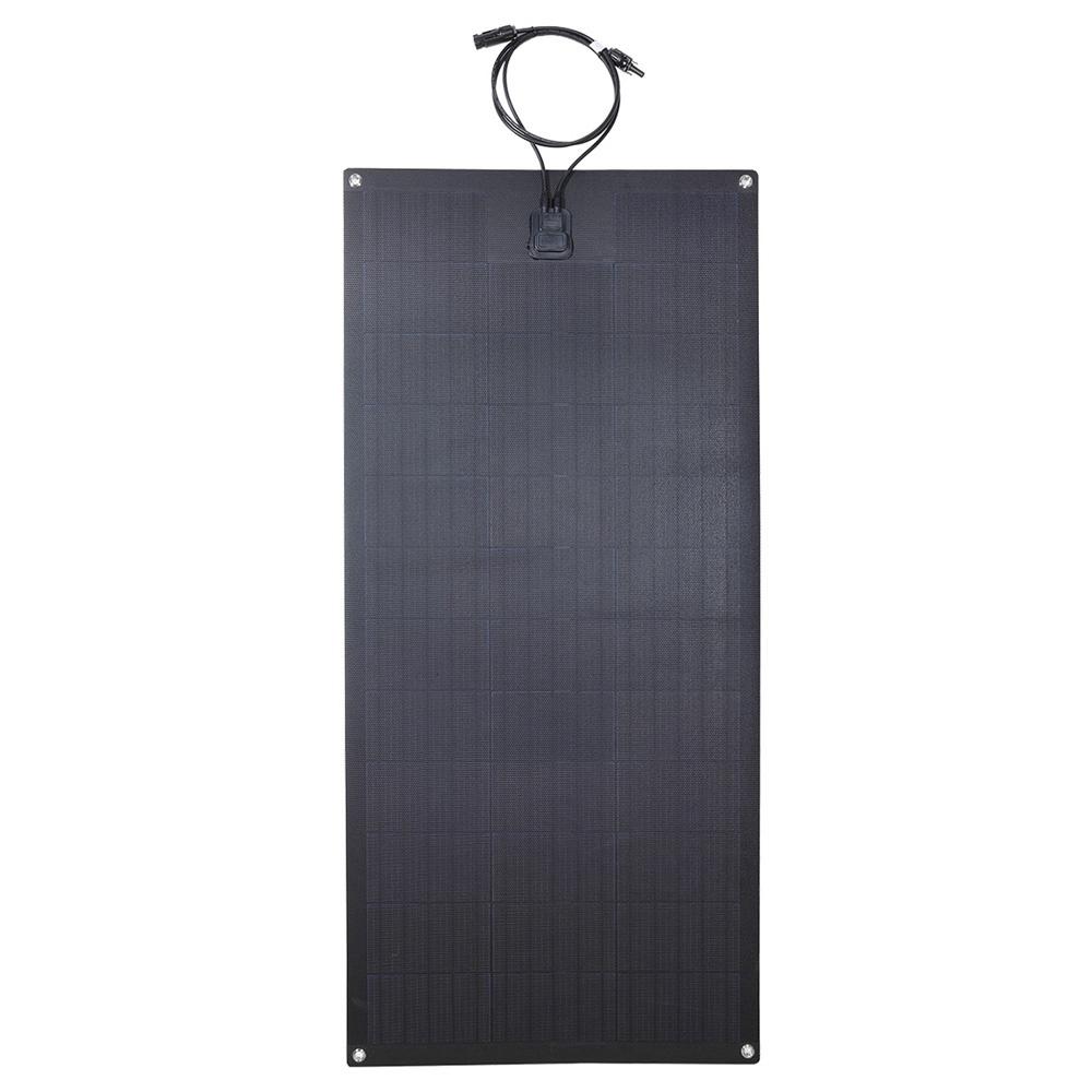 Lensun LS-100FX2 100W 12V لوحة شمسية سوداء مرنة