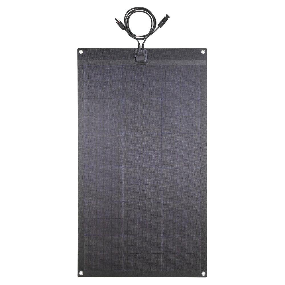 Lensun LS-80FX2 80W 12V Panneau solaire flexible noir