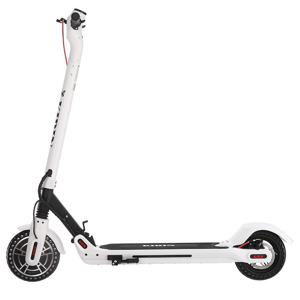 KUGOO ES2 Folding Electric Scooter 350W Motor LED Display Screen Max 25KM/H 8.5 Inch Tire - White фото