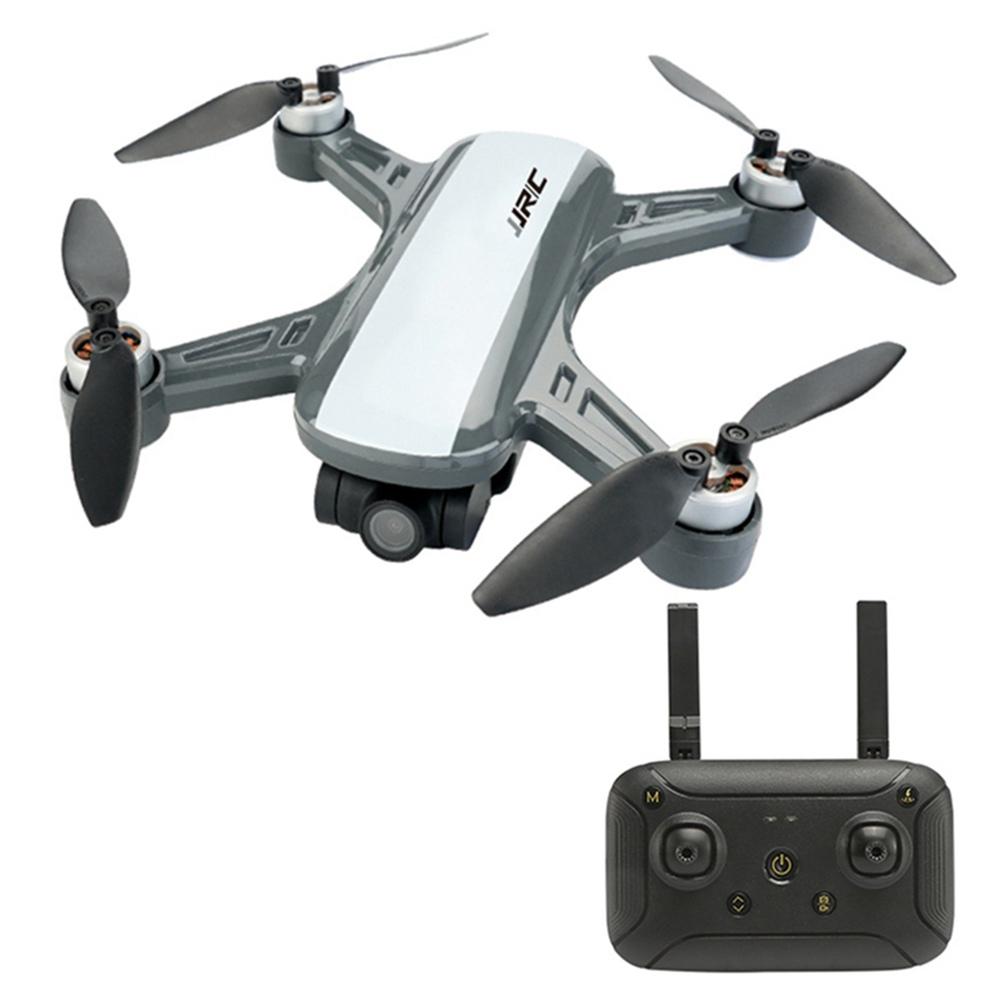 JJRC X9PS 4K 5G WIFI FPV Dual GPS RC Drone with 2-Axis Gimbal RTF - White ثلاث بطاريات مع حقيبة