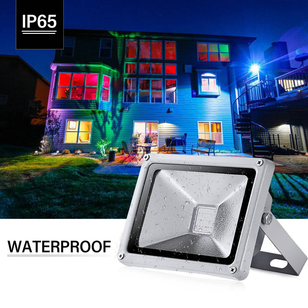 20W Generation Floodlights RGB with Remote Control
