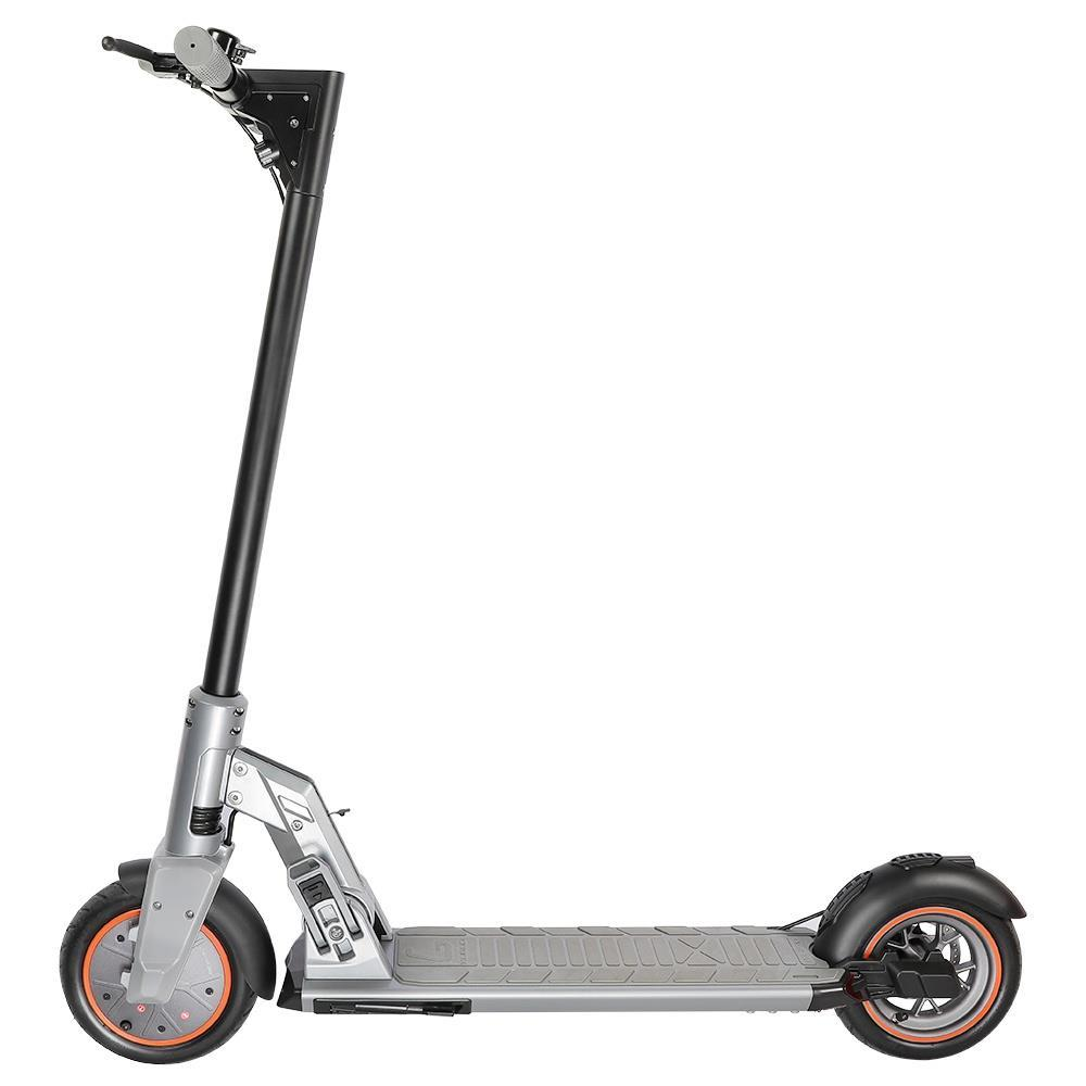 KUGOO M2 PRO Folding Electric Scooter 350W Motor LED Display Screen 3 Speed Modes Max 25km/h 8.5 Inch Tire - Silver