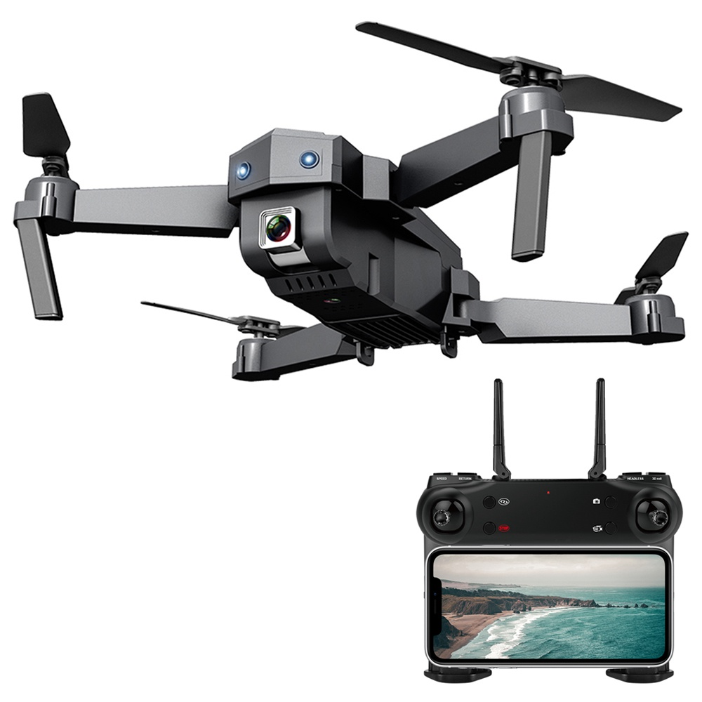 ZLRC SG107 4K Optical Flow Foldable Drone With Switchable Dual Cameras 50X Zoom RC Quadcopter RTF - 4K Optical Flow with Bag