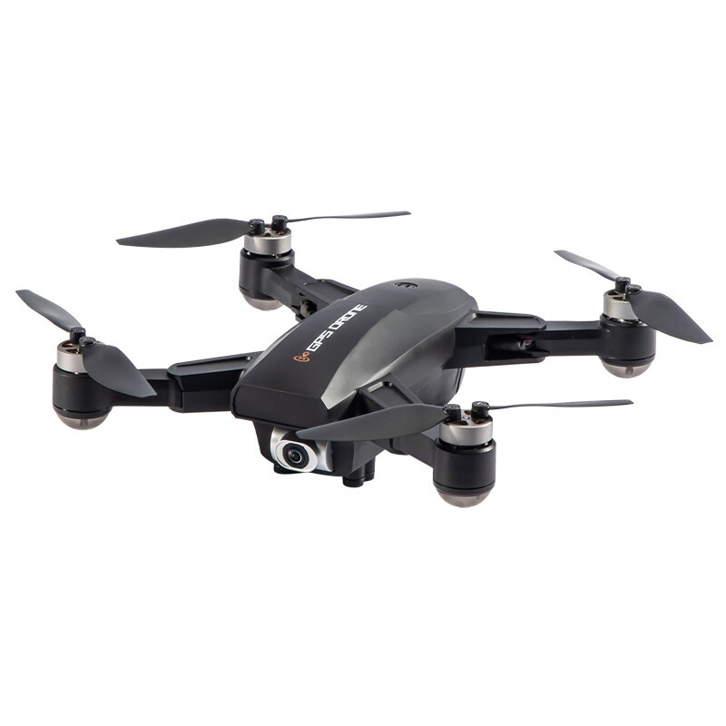 JJRC X16 6K 5G WIFI FPV GPS Brushless RC Drone With 120 Degree Wide Angle Camera Optical Flow Positioning RTF - Black One Battery with Bag