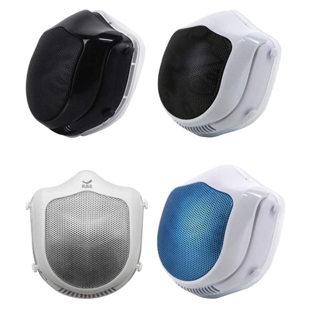 Επαναχρησιμοποιούμενη ηλεκτρική μάσκα Q5s Αυτόματη παροχή καθαρισμού αέρα με φίλτρα αντικατάστασης 2PCS για PM2.5 Αντιρρυπαντική εξάτμιση Γύρη αλλεργία από Xiaomi Youpin - Τυχαίο χρώμα