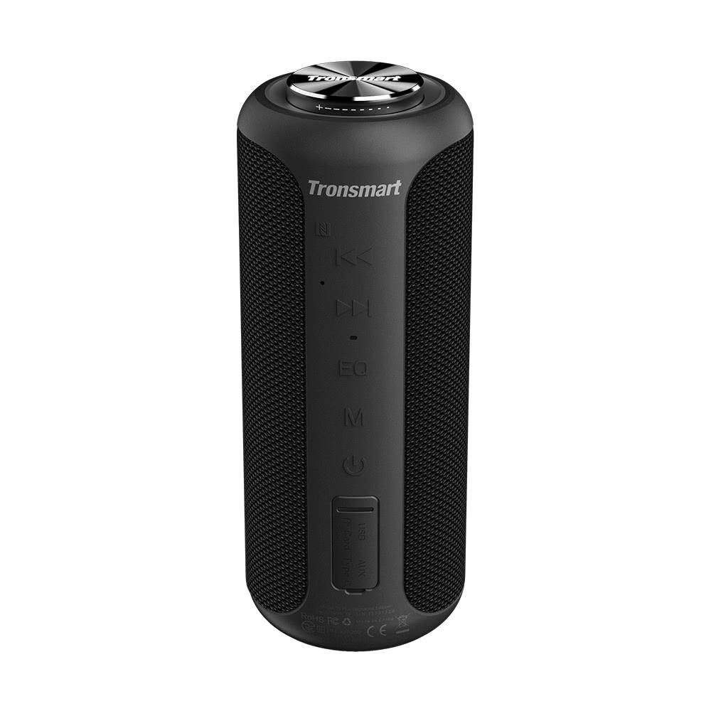 Tronsmart T6 Plus verbeterde versie Bluetooth 5.0 40 W luidspreker NFC-verbinding 15 uur speeltijd IPX6 USB-laaduitgang - zwart