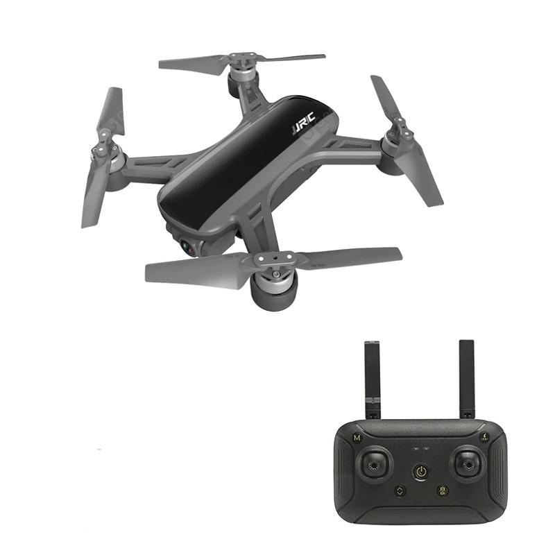 JJRC X9PS 4K 5G WIFI FPV kettős GPS RC drone 2 tengelyes Gimbal RTF - fekete, két elem táskával