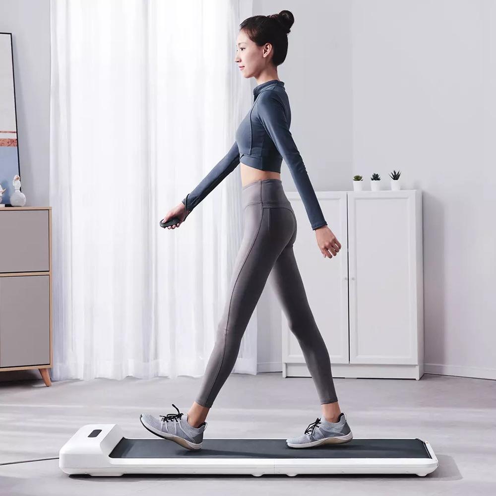 WalkingPad S1 Smart Faltbares Laufpad Laufband Fitnessstudio Laufen Fitnessgeräte Intelligente Füße Sensorische Geschwindigkeitsregelung LED-Anzeige Geräuscharm von Xiaomi Youpin - Weiß