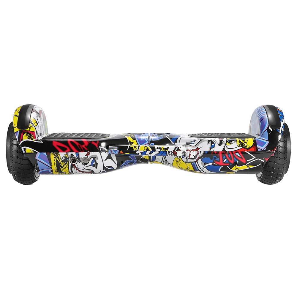 Imina 6.5 inch Self Balancing Scooter Hoverboard 500W with Bluetooth Speaker and StripLight - Graffiti фото