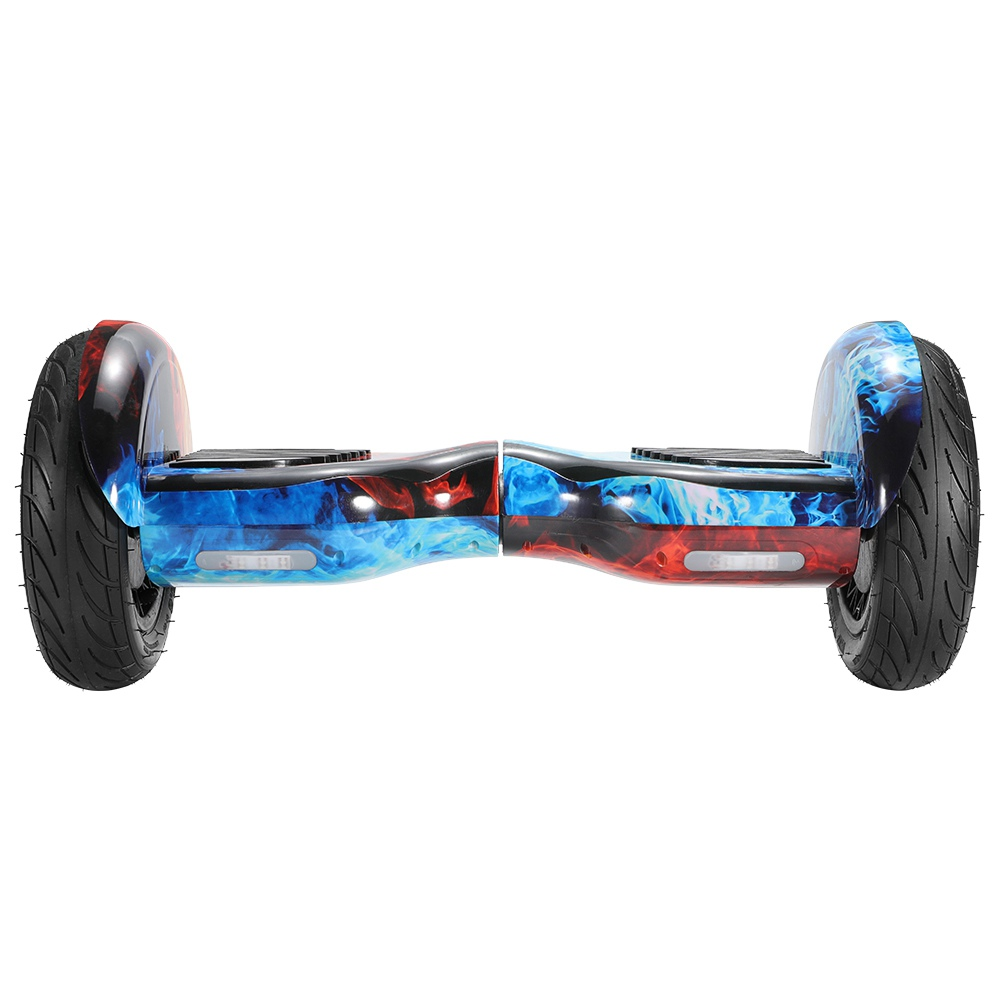 Imina 10 inch Self Balancing Scooter Hoverboard with Bluetooth Speaker and StripLight - Red Blue фото