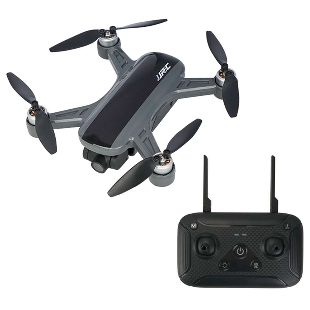 JJRC X9PS 4K 5G WIFI FPV Dual GPS RC Drone con cardán RTF de 2 ejes - Negro Tres baterías con bolsa