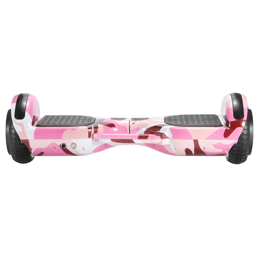 Imina 6.5 inch Self Balancing Scooter Hoverboard 500W with Bluetooth Speaker and StripLight - Pink фото