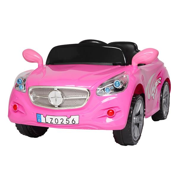 LEADZM LZ-9928 Electric Stroller Double Drive 35W*2 Battery 12V7AH*1 With 2.4G Remote Control - Pink фото