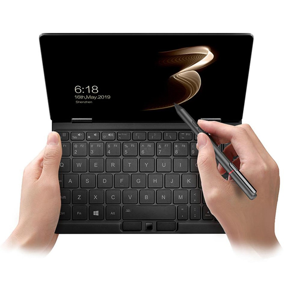 "One Netbook One Mix 3S Yoga Pocket Laptop Intel Core M3-8100Y Dual-Core 8.4 ""IPS Écran 2500 * 1600 Touch ID 8 Go DDR3 256 Go PCI-E SSD Windows 10 Home - Noir"