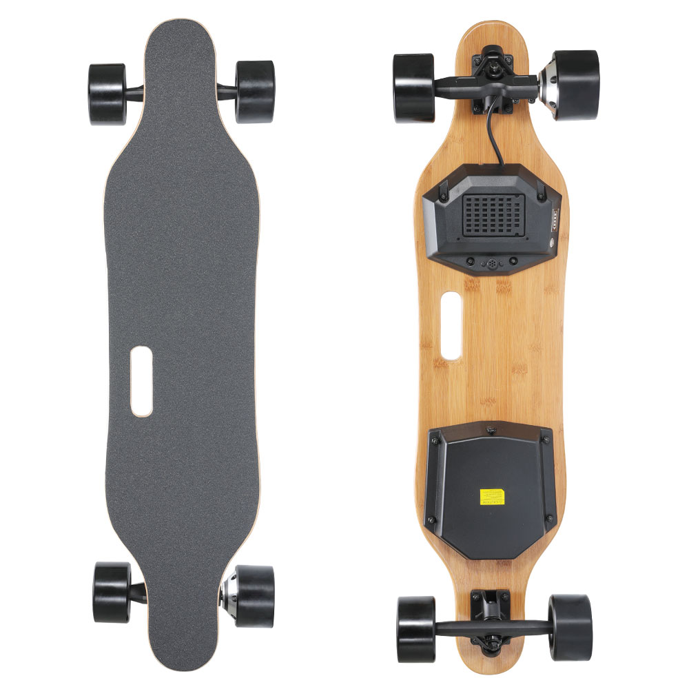 REDPAWZ SYL-06 Electric Skateboard 350W Single Motors 4000mAh Battery Max Speed 30km/h With Remote Control - Black фото