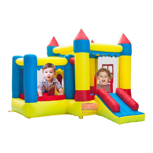 Gonfiabile Bounce House Castle Ball Pit Jumper Kids Play Castle 3.2 * 3 * 2.5m Tessuto Oxford spesso 420D