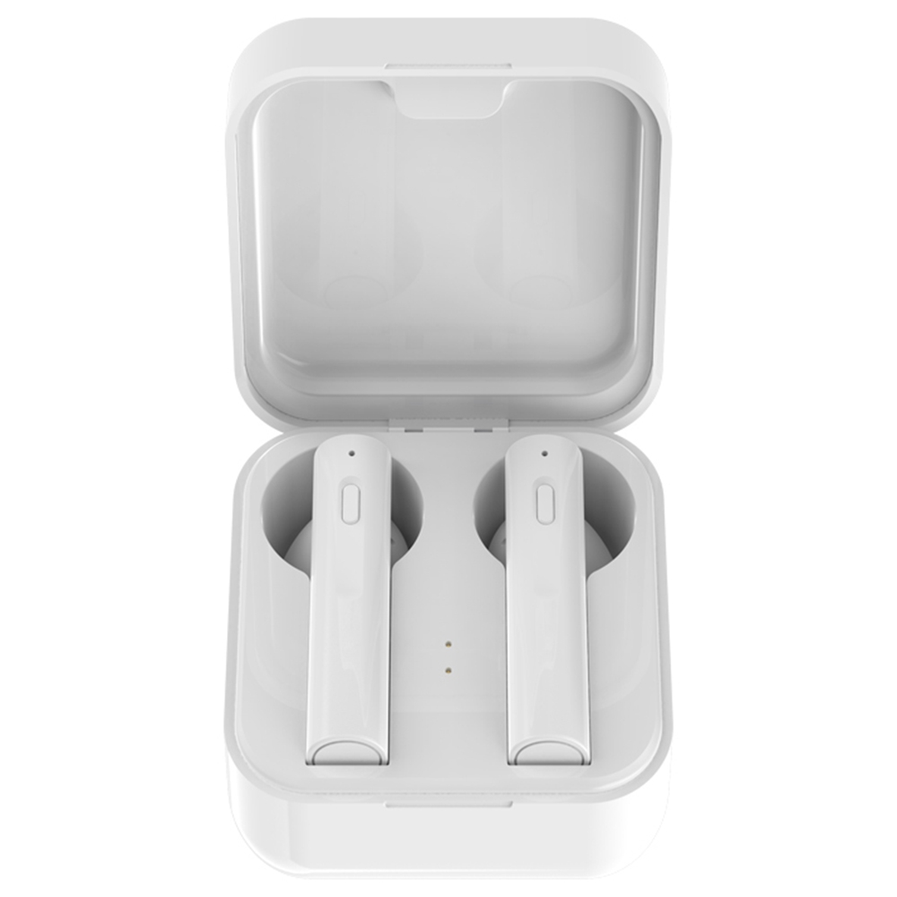Air 6 TWS fülhallgató IPX4 vízálló automatikus csatlakoztatási hangsegéd