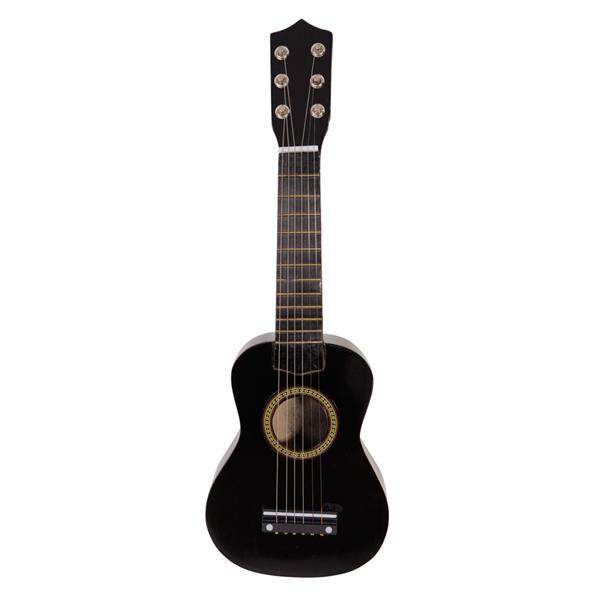 """21 """"Αρχαία κιθάρα ακουστικής 6 χορδών μουσικά όργανα - μαύρο"""