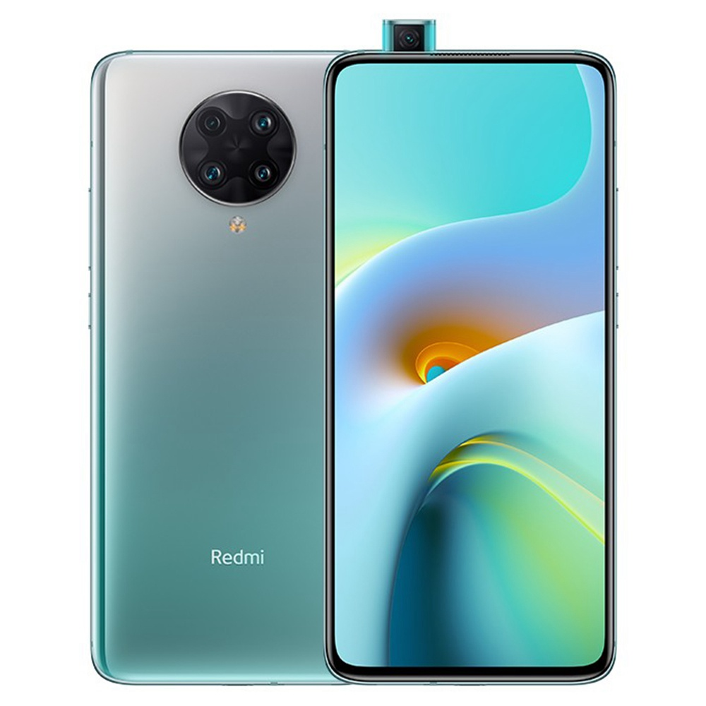 Xiaomi Redmi K30 Ultra CN Version 5G Smartphone 120Hz 6.67 Inch AMOLED Display MTK Dimensity 1000+ Octa-core 6GB RAM 128GB ROM Sony Quad Rear Camera NFC 4500mAh Large Battery 33W Fast Charge - Green