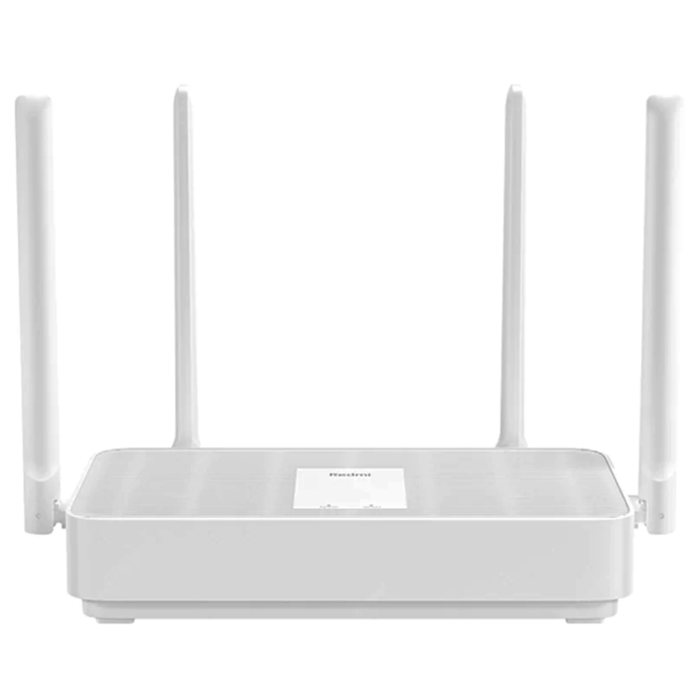 Xiaomi Redmi AX5 Router 5 Core WiFi 6 Dual Band Wireless WiFi Router Support Mesh OFDMA 1775MBps 4xAntennas 256MB Wireless Signal Booster Enfants Protection - Blanc