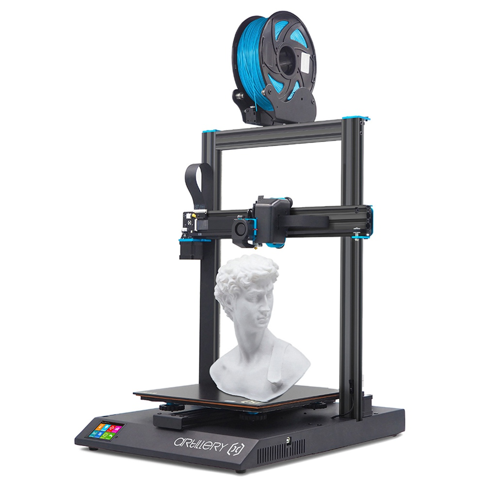 Artillery Sidewinder X1 SW-X1 3D Printer 300x300x400mm  High Precision Dual Z axis TFT Touch Screen