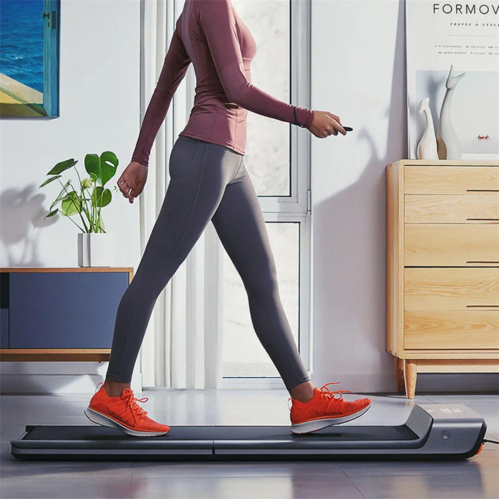 Xiaomi Mijia Smart Folding Walking Machine Αντιολισθητικό Sports Treadmill Manual Automatic Modes Gym Fitness Equipment Display Display Connected with Mi Home App - Silver Grey