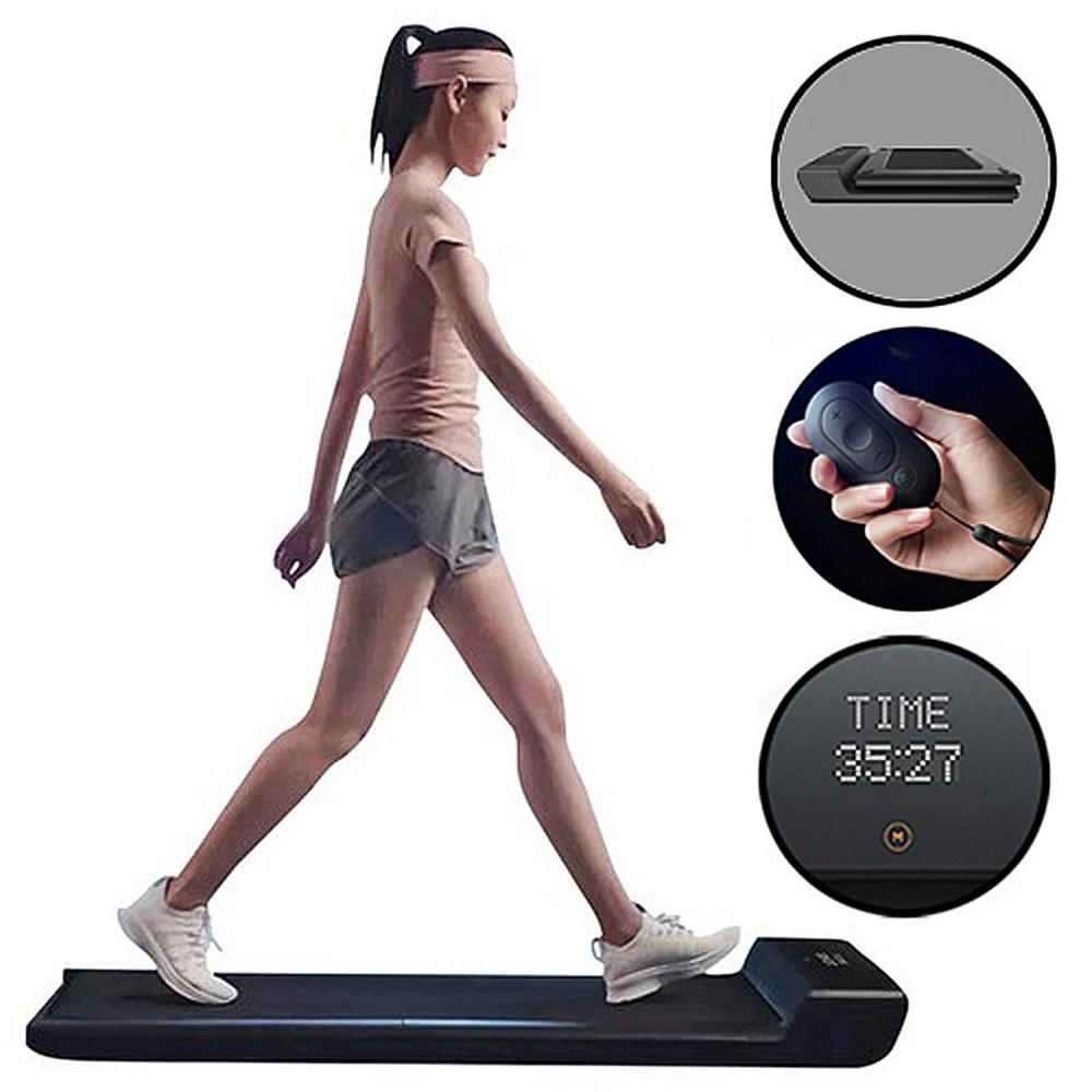 WalkingPad A1 Pro Walking Pad Intelligentes Laufband für Training, Fitness-Trainingsgeräte, Bewegung im Innen- und Außenbereich mit manuellem und automatischem Modus, Fernbedienung, LED-Anzeige, intelligente App-Steuerung, 100 kg Tragfähigkeit von Xiaomi - EU-Version
