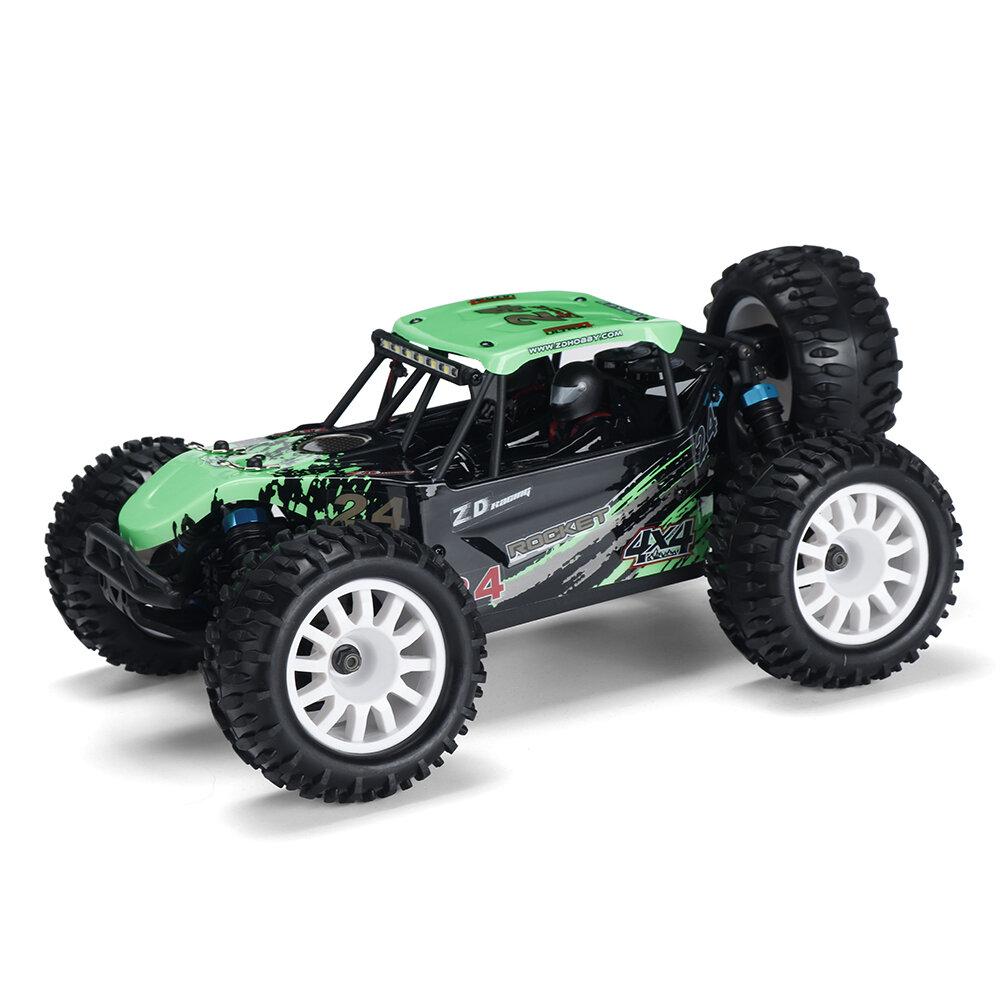 ZD Racing ROCKET DTK16 1:16 Schaal 4WD 45 KM / U Borstelloze Desert Truck RC Auto - Groen