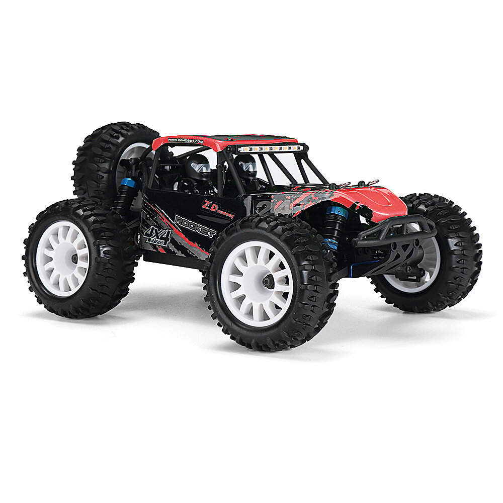 ZD Racing ROCKET DTK16 1:16 Scale 4WD 45KM / H Brushless Desert Truck RC Car - Rouge