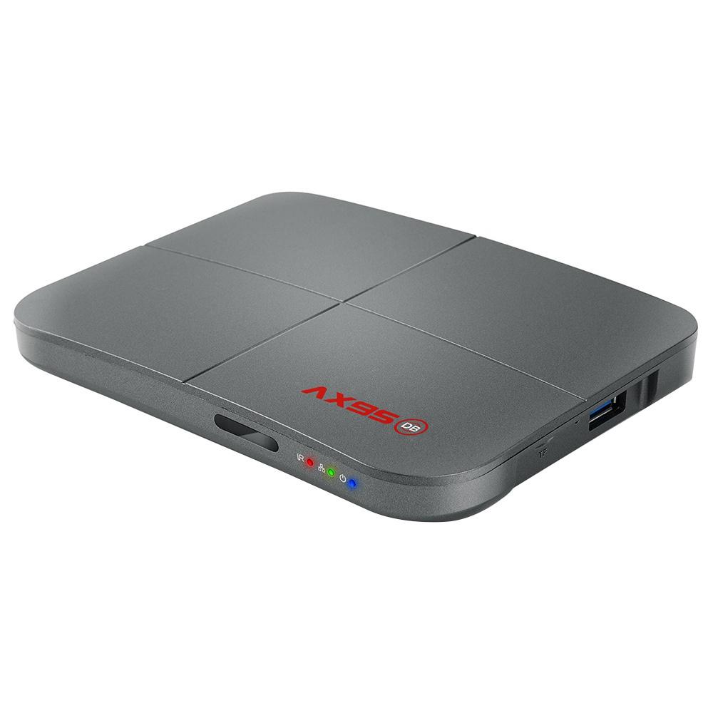 AX95 DB Android 9.0 S905X3-B 4GB / 128GB TV BOX 8K HDR 10+ YouTube 4K BDMV ISO DOLBY 2.4G + 5G kétsávos WIFI 100M LAN