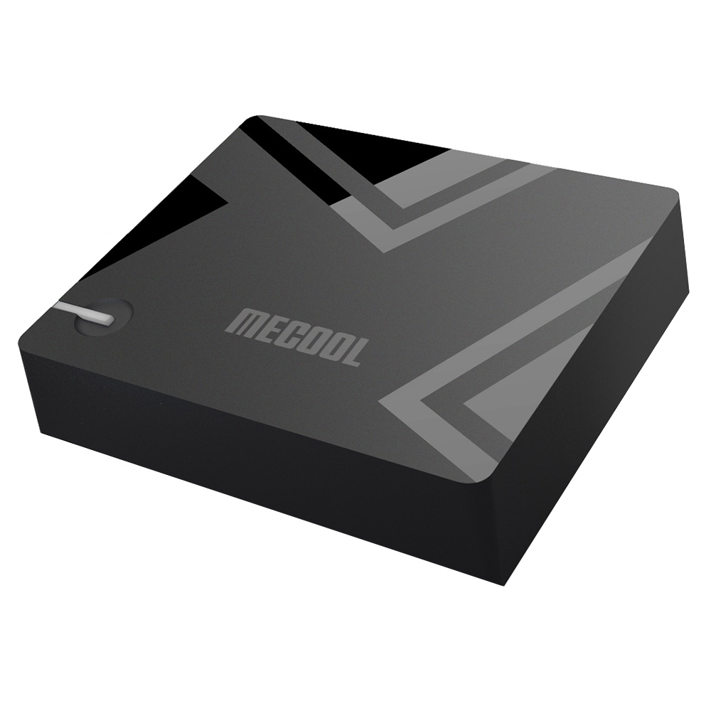 Mecool K5 DVB-T2 / S2 / C 2GB / 16GB Android 9.0 TV Box Amlogic S905X3 EPG PVR Εγγραφή CCcam Newcam Biss Key