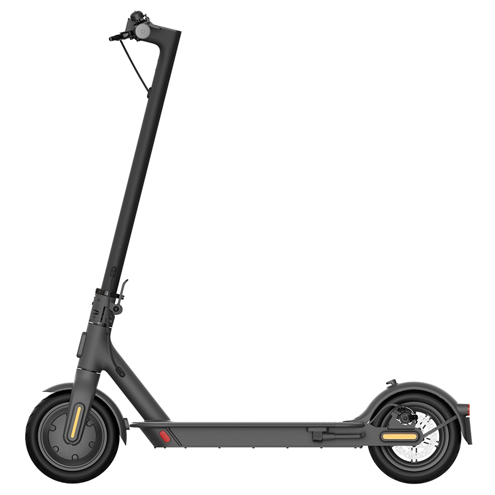 Mi Electric Scooter 1S 8.5 Inch Xiaomi Folding Electric Scooter 250W Brushless Motor Up To 30km Range Max speed 25km/h Smart Display Dual Brake Global Version - Black