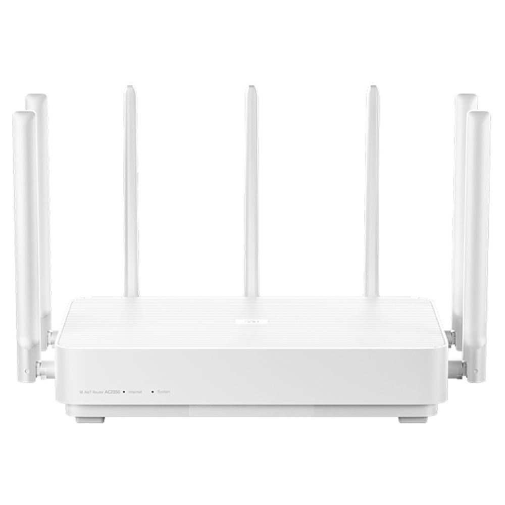 Xiaomi AC2350 Mi Alot Wireless Router 2183 Mbit / s High Gain 7 Antennen 128 Mbit IPv6 MU-MIMO Dualband - Weiß