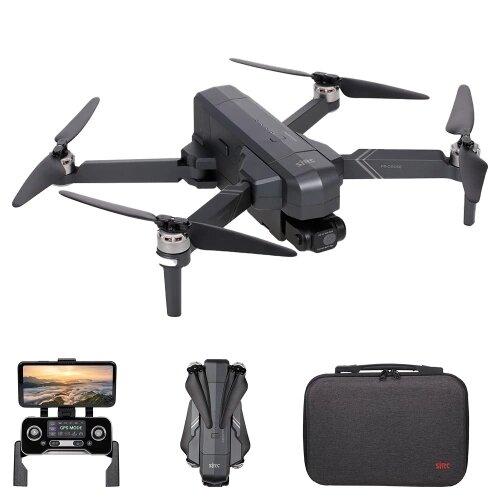 SJRC F11 4K Pro GPS 5G WIFI 1.2KM FPV Drone RC pieghevole con stabilizzazione elettronica a 2 assi Gimbal Brushless RC Drone RTF - Tre batterie con borsa